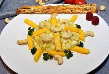 Chicoree Salat mit Mango Rezept