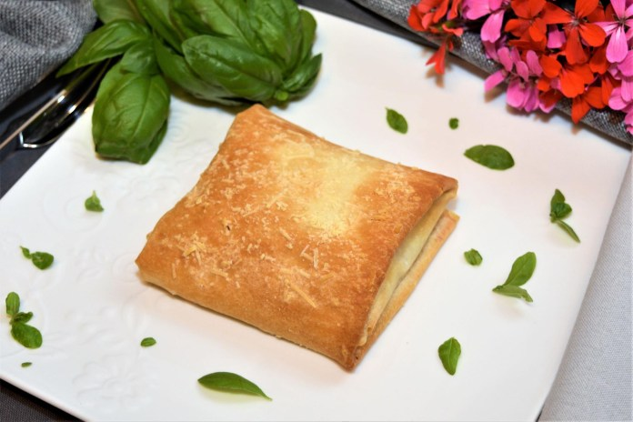 Mozzarella im Filo Teig Snack