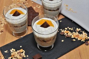 Orangen Chia Dessert Rezept