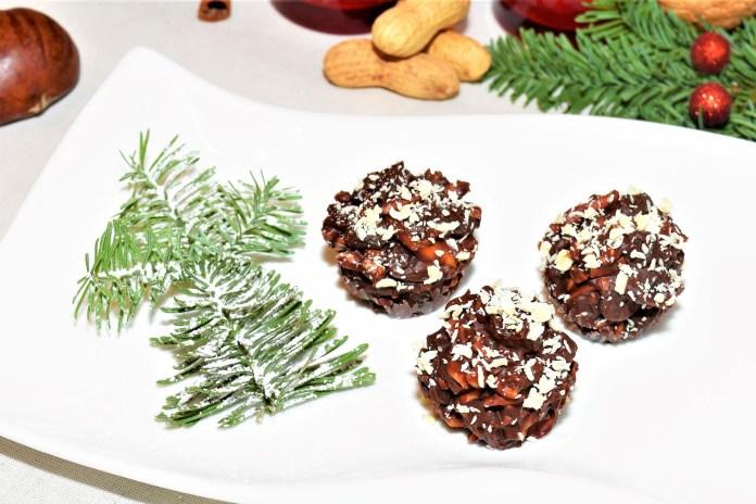 Schoko Pralinen ohne Backen Dessert