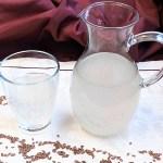 Leinsamen-Drink Rezept