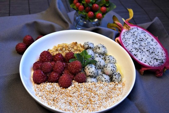 Pitahaya Frühstücks-Bowl Rezept