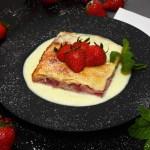 Schichtkuchen mit Joghurt-Erdbeeren Rezept