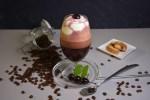 Eiskaffee mit Kirschlikör Rezept