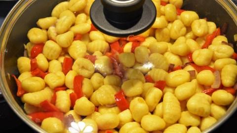 Gebratene Gnocchi mit Bärlauch