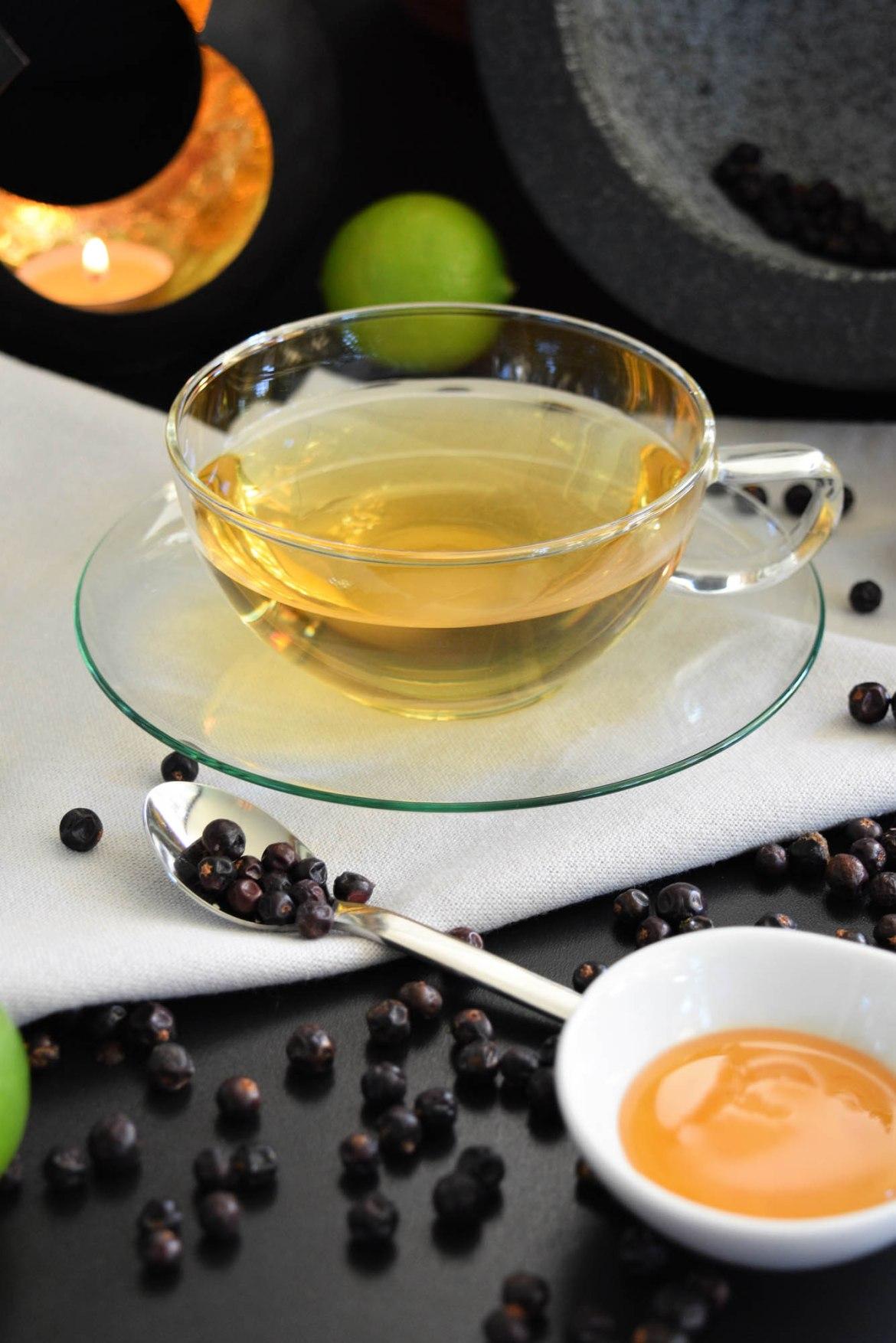 Wacholder Tee Gesund