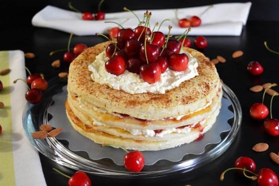 Blätterteig Kuchen mit Kirschen-Rezept-BallesWorld