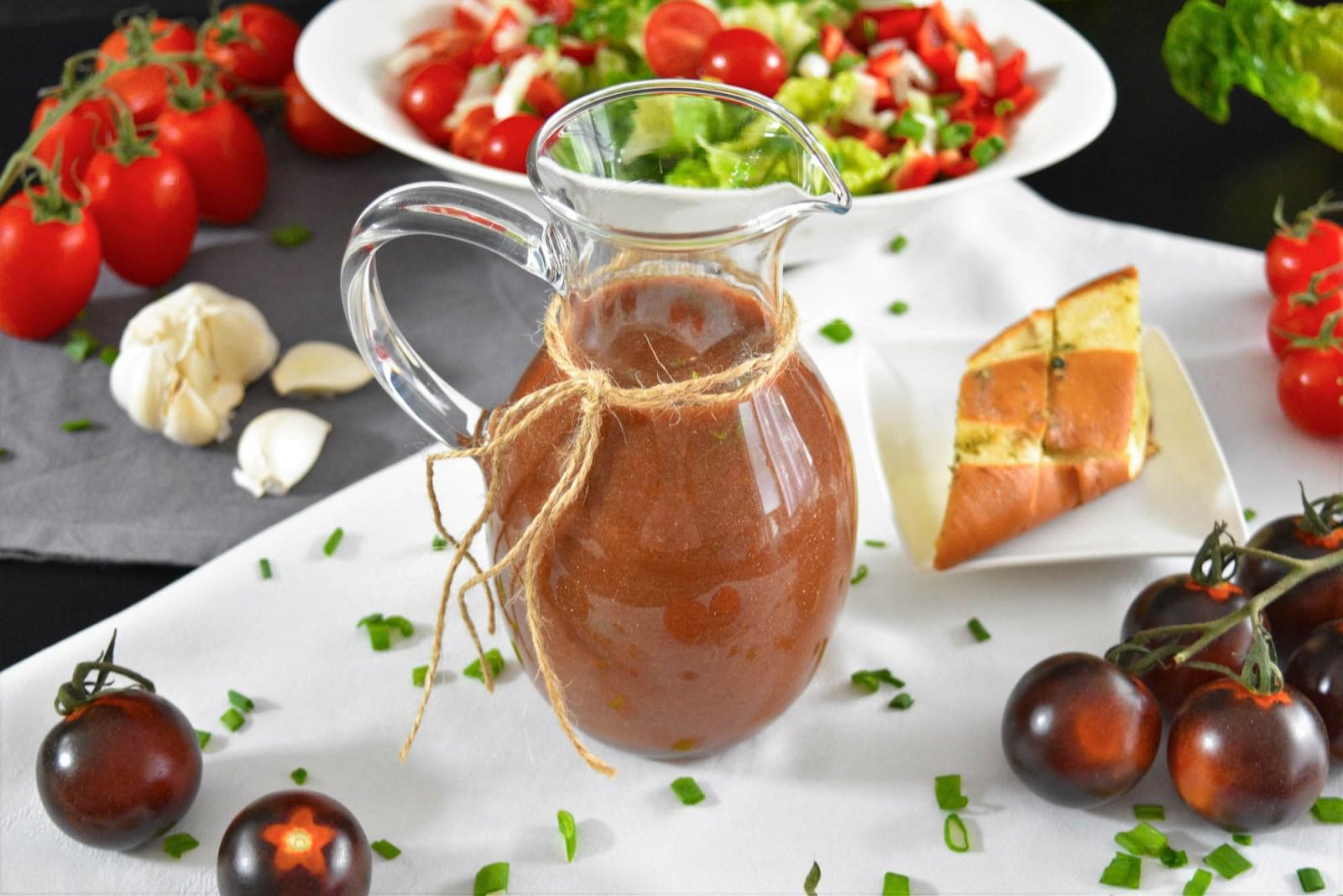 Tomaten-Balsamico Dressing-Rezept-BallesWorld