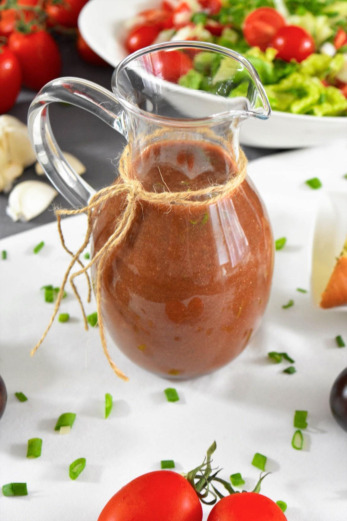 Tomaten-Balsamico Dressing-Salat Sauce-BallesWorld