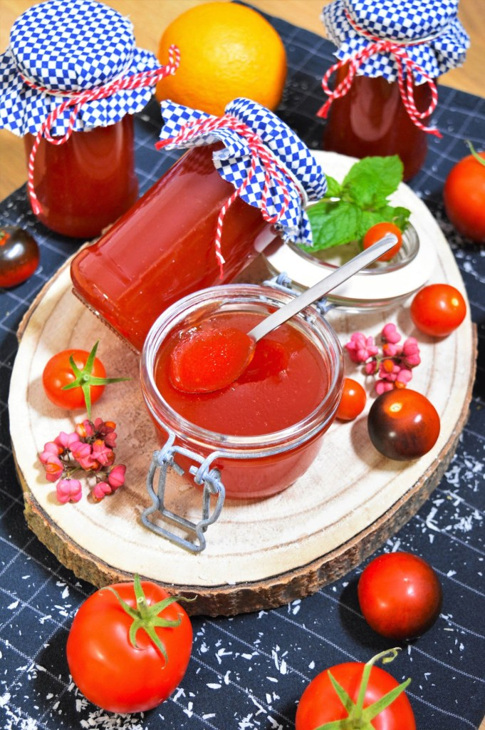 Tomatenmarmelade mit Orange-Rezeptideen-ballesworld