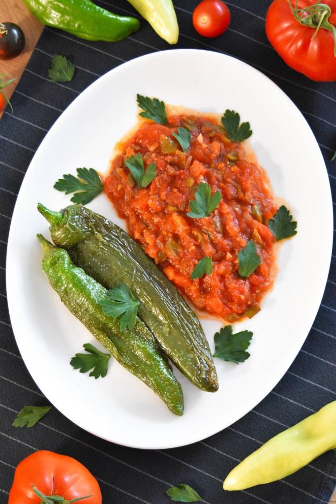 Gebratene Paprika und Tomaten-Vegan-ballesworld