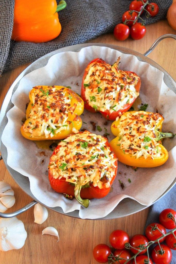 Gefüllte Paprika mit weißen Bohnen-Rezeptideen-ballesworld
