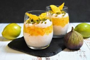 Mango-Müsli Dessert im Glas
