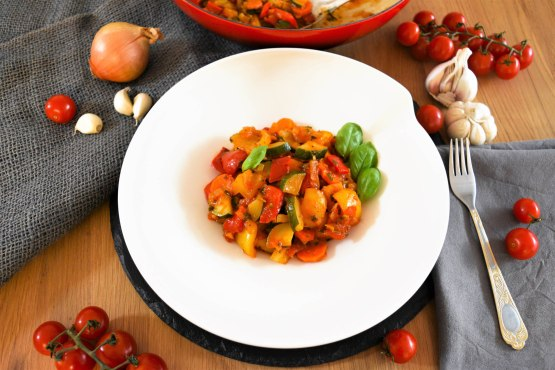 Ratatouille–Resteverwertung Deluxe-Rezept-ballesworld