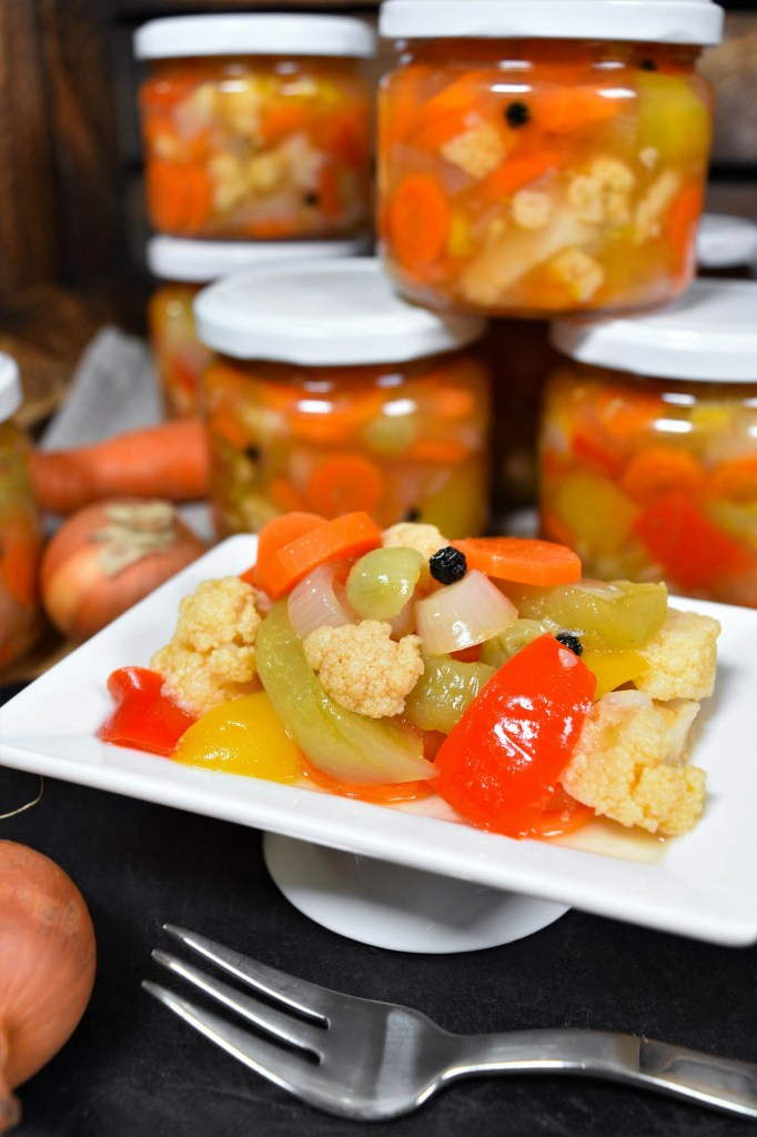 Mixed Pickles nach mazedonischer Art-Rezeptideen-ballesworld