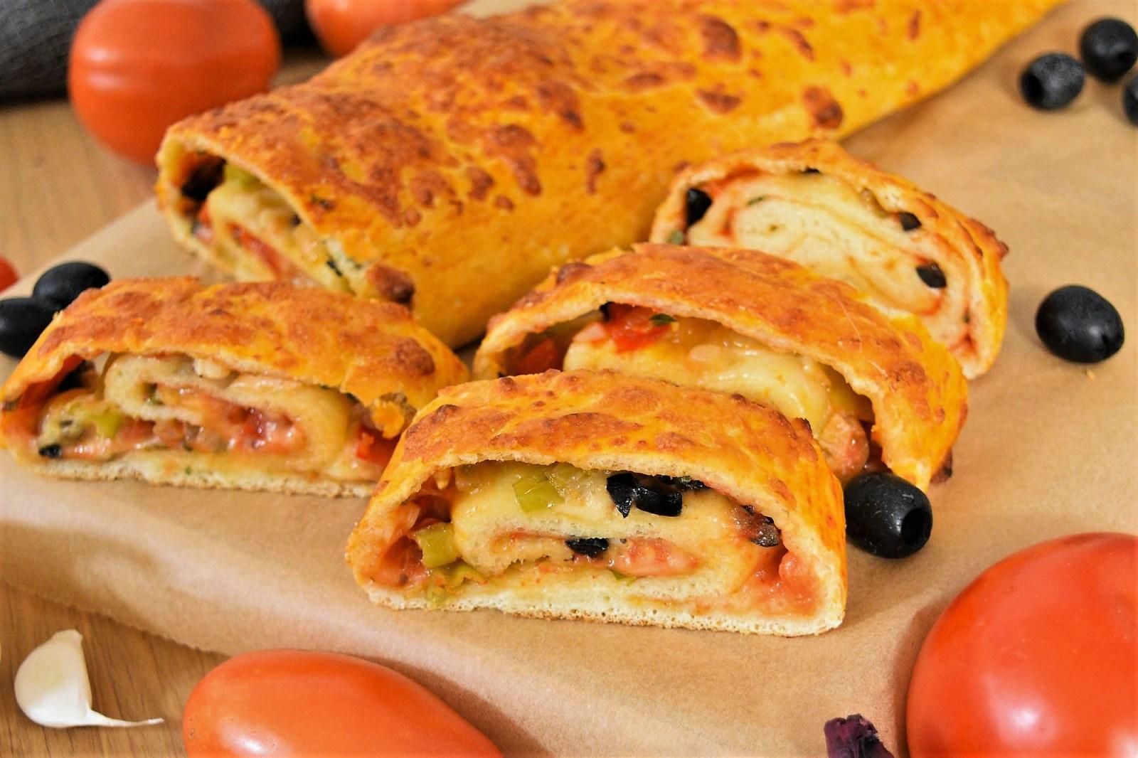 Pizza Rolle mit frischen Kräutern-Rezept-ballesworld