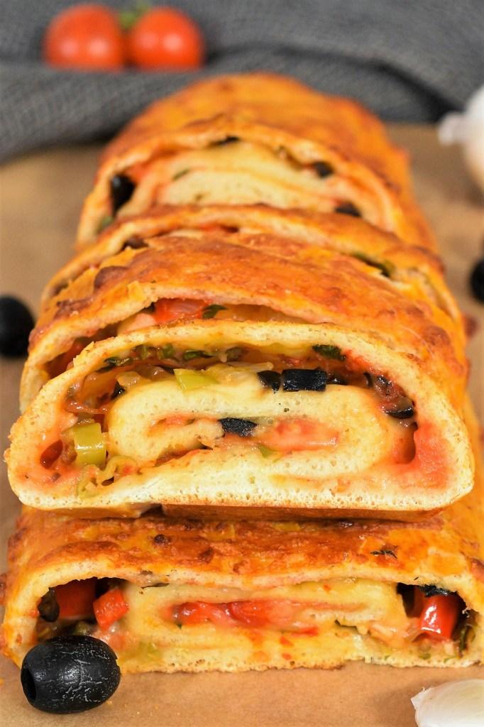 Pizza Rolle mit frischen Kräutern-Sparrezept-ballesworld
