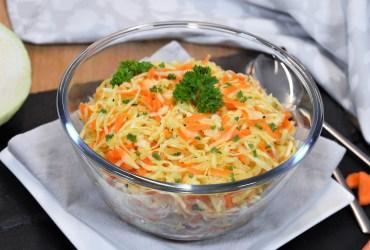 Weißkohlsalat mit heißem Dressing-Rezept-ballesworld