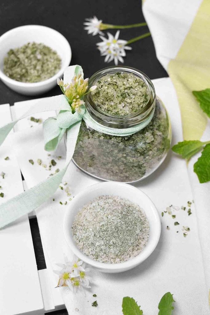 Bärlauch-Minze Salz-Gewürze-ballesworld