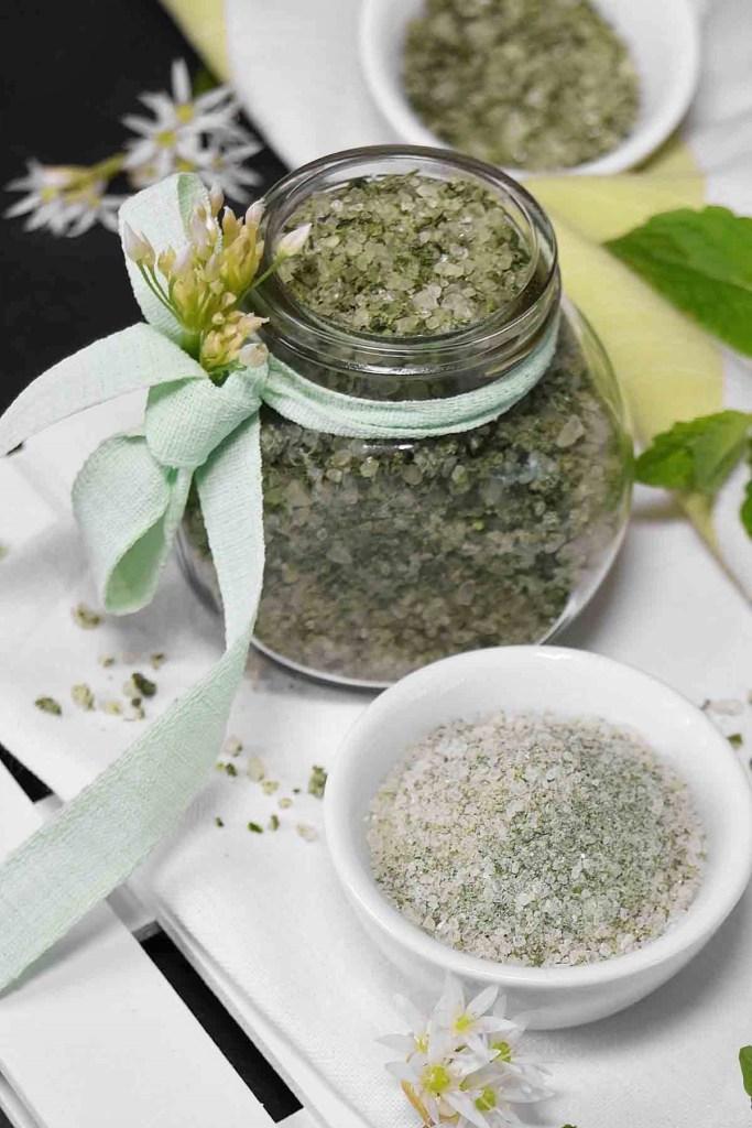 Bärlauch-Minze Salz-Selbstgemacht-ballesworld