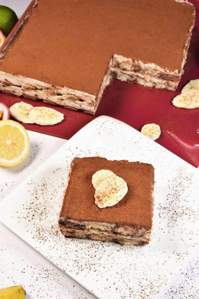 Tiramisu mit Bananen Schoko Creme-Kuchen-ballesworld