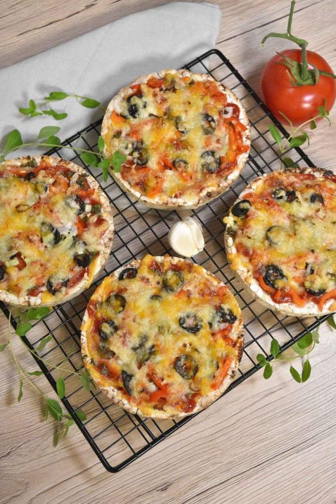 Reiswaffel Mini-Pizza-Partysnacks-ballesworld