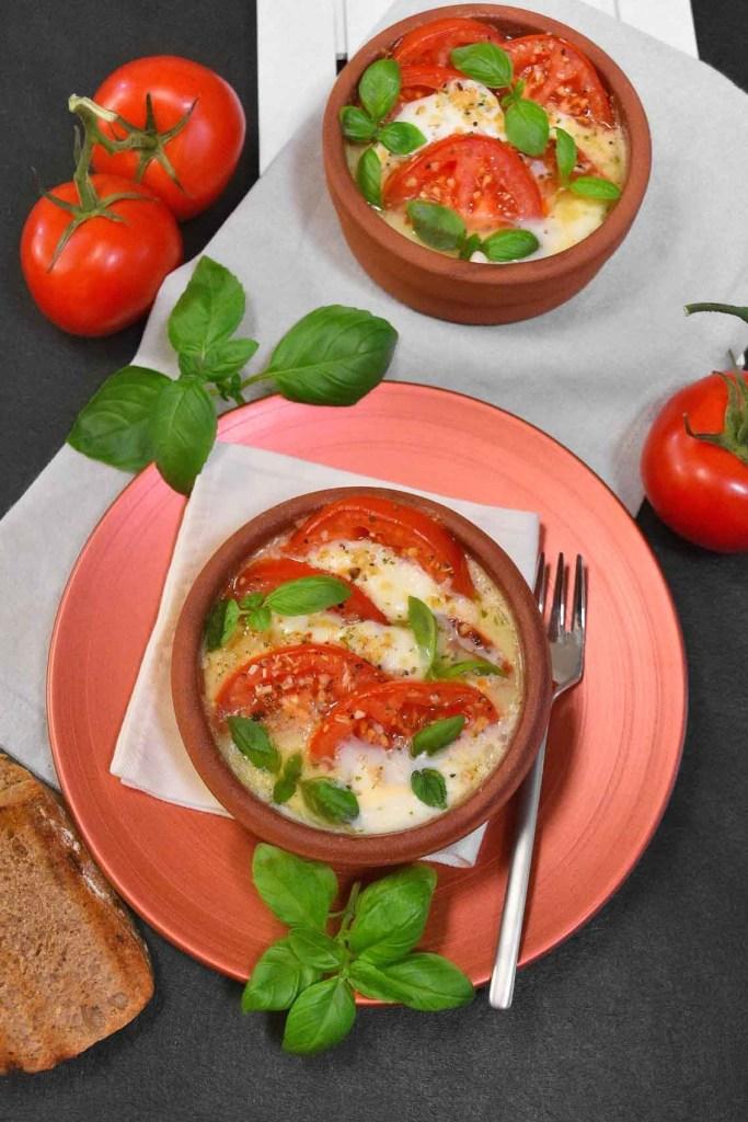 Tomate Mozzarella vom Grill-Vegetarisch-ballesworld