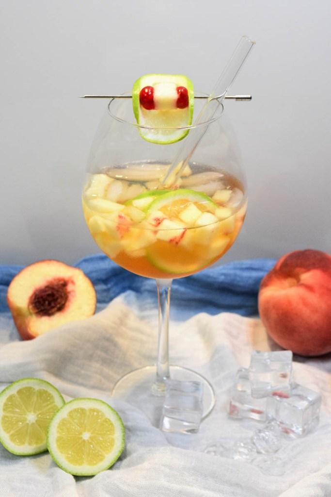 Prosecco Pfirsichlikör Spritz-Erfrischungsgetränk-ballesworld