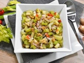 Sellerie Salat nach mediterraner Art-Rezept-ballesworld