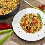 Spätzle mit Gemüseresten-Rezept-ballesworld