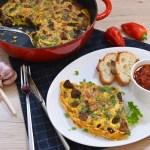 Gebackenes Fleisch mit Eiern nach mazedonischer Art-Rezept-ballesworld