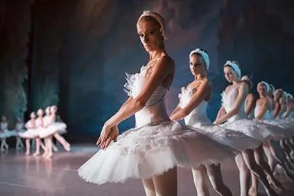 白鳥の湖のコールドバレエ