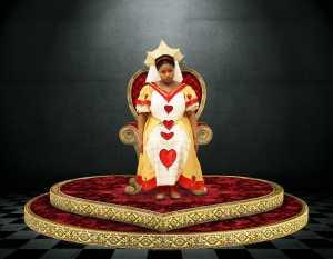 queen throne