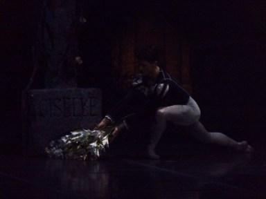 Albrecht sur la tombe de Giselle