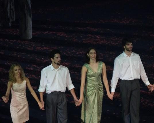 Séverine Westermann, Stéphane Bullion, Katherine Higgins et Florian Magnenet