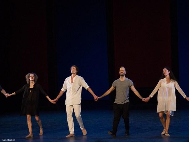 Benjamin Millepied et ses danseurs