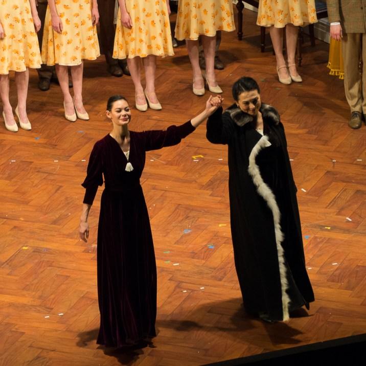 Alice Renavand (la Mère de Casse-Noisette) et Elena Zaremba (la gouvernante d'Iolanta)