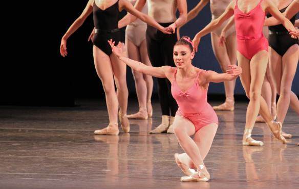 Tiler Peck in Symphony in Three Movements, October 5, 2013.