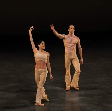 Sascha Radetsky with Paloma Herrera in Clear, November 2, 1013