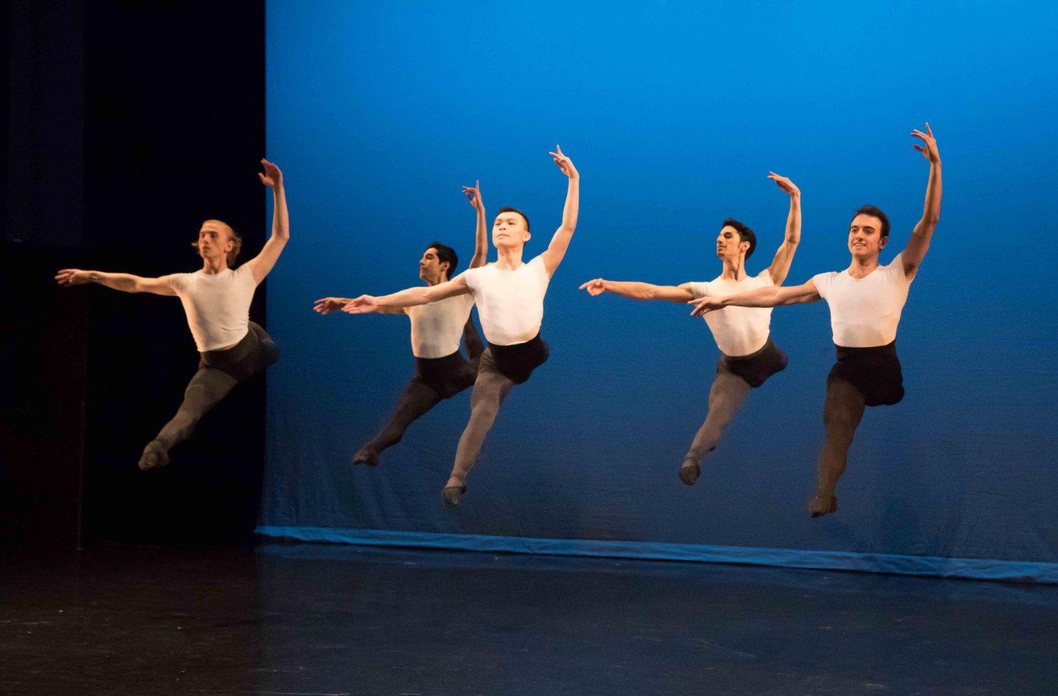 Ellison Ballet, Ballet Academy East Student Performances, Vilhelm Bjerser--Nicholas Moreno Ciblis-Kevin Zong--Forrest Oliveros--Juan Cruz Luque-Offenbach-Adagio-5-20-2016-twitter