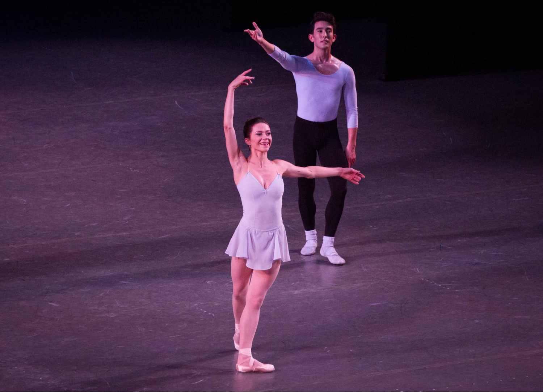 Megan Fairchild and Anthony Huxley