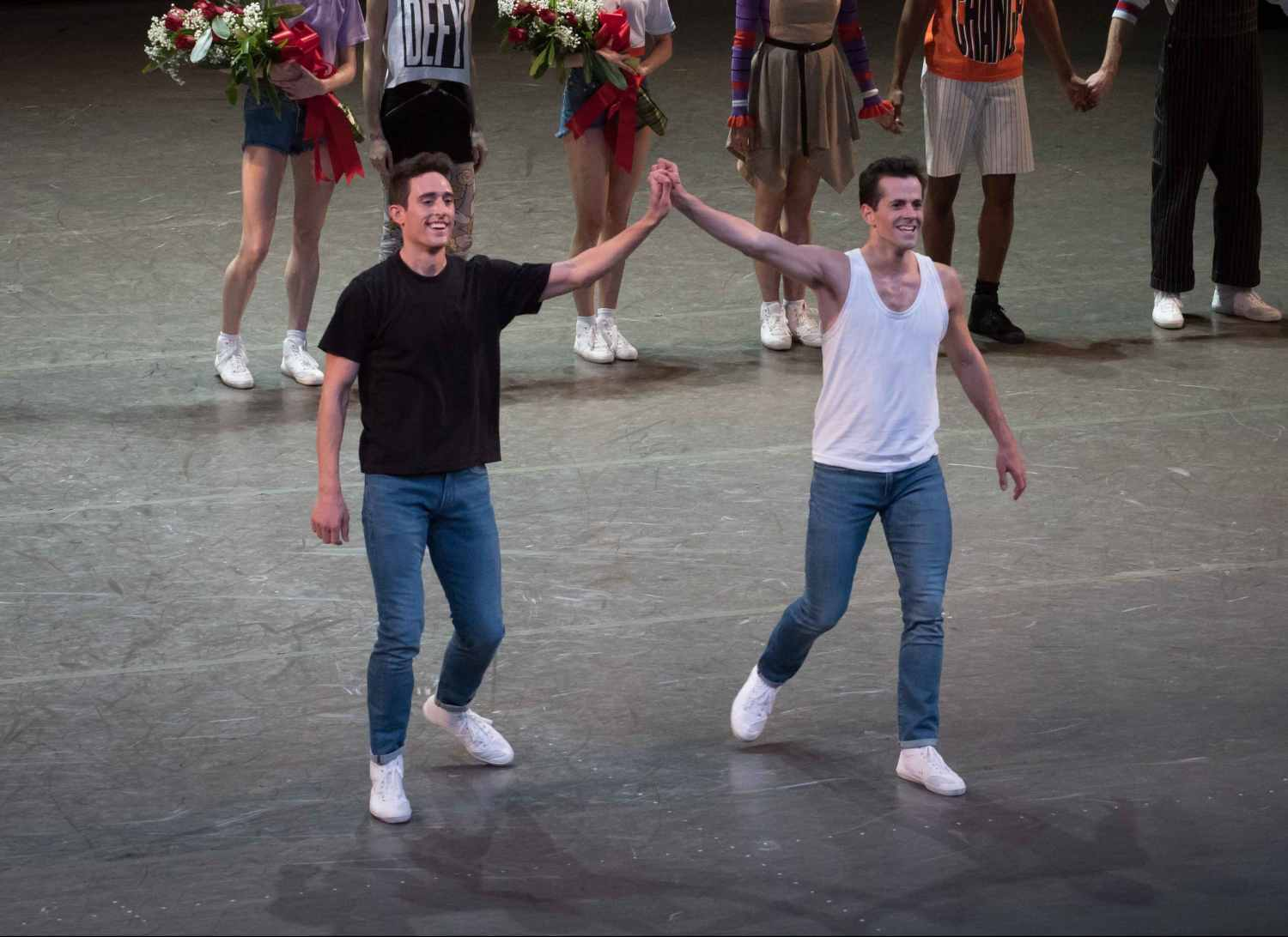 Justin Peck and Robert Fairchild, The Times Are Racing, NYCB New Combinations