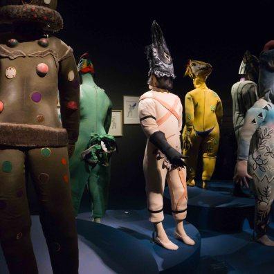 Firebird ballet costumes by Marc Chagall
