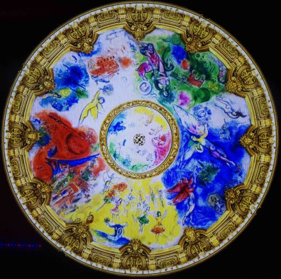 Paris Opera Ballet ceiling by Marc Chagall