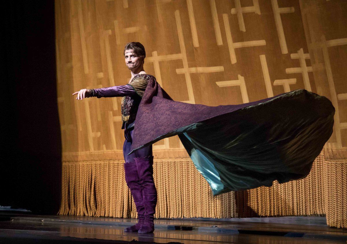 Sarah Lane ABT debut in Swan Lake. Alban Lendorf as Rothbart