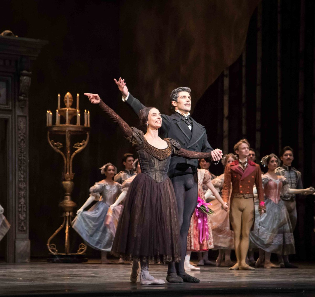 Alessandra Ferri and Roberto Bolle Onegin