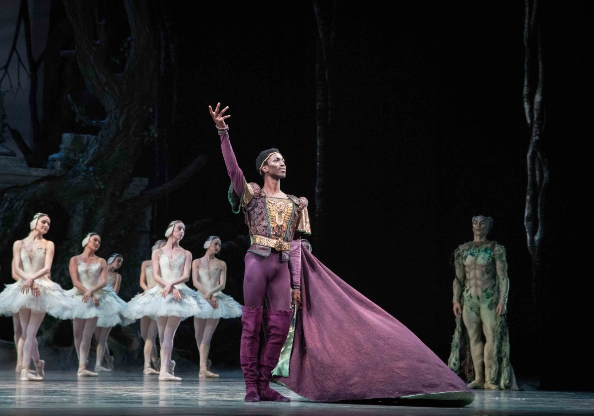 Calvin Royal ABT Swan Lake Review: Teuscher Met Debut Shows Promise