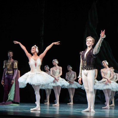 Misty Copeland and David Hallberg, Swan Lake
