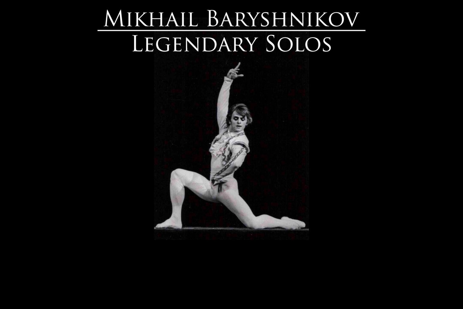 Mikhail Baryshnikov legendary solos YouTube video