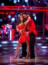 WARNING: Embargoed for publication until 20:30:01 on 12/12/2015 - Programme Name: Strictly Come Dancing 2015 - TX: 12/12/2015 - Episode: n/a (No. n/a) - Picture Shows: **DRESS REHEARSAL** EMBARGOED FOR PUBLICATION UNTIL 20:30 HRS ON SATURDAY 12TH DECEMBER 201 Georgia May Foote, Giovanni Pernice - (C) BBC - Photographer: Guy Levy